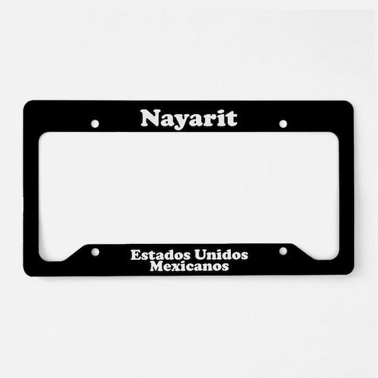 Nayarit Mexico - LPF License Plate Holder