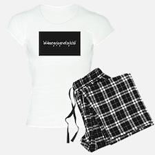 Say The Truth Pajamas
