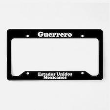 Guerrero Mexico - LPF License Plate Holder