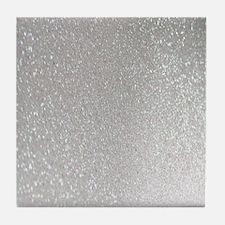 Unique Glittery Tile Coaster