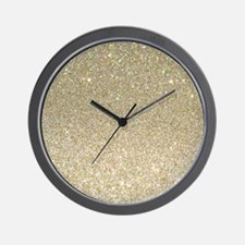 Unique Glitter Wall Clock
