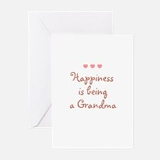 Happiness is being a Grandma Greeting Cards (Pk of