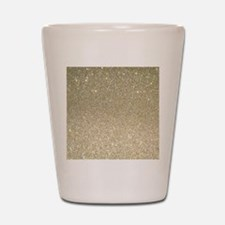 Funny Glittery Shot Glass