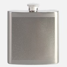 Cute Silver Flask