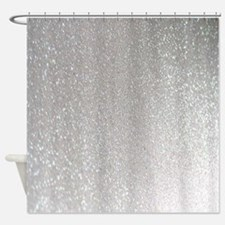 Glittery Shower Curtain