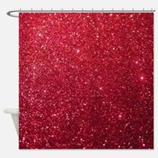 Cool Glittery Shower Curtain