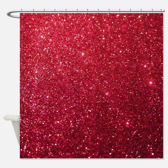 Funny Girly Shower Curtain