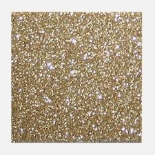 Cool Glittery Tile Coaster