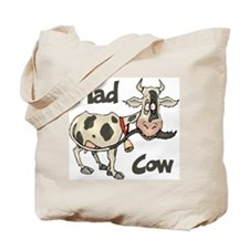 Mad Cow Tote Bag