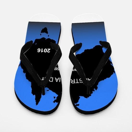 Australia Day Flip Flops
