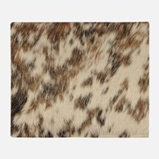 Cute Animal texture Throw Blanket