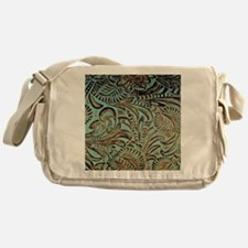 Cute Tooled leather Messenger Bag