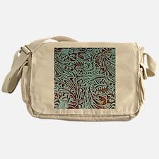 Funny Tooled leather Messenger Bag