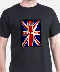 Keep Calm Union Jack T-Shirt