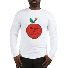 Apple of Pappous' Eye Long Sleeve T-Shirt