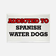 Addicted to Spanish Water Dogs Magnets