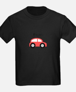 Elijah - Red Car T-Shirt