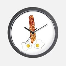 Breakfast Boner Wall Clock