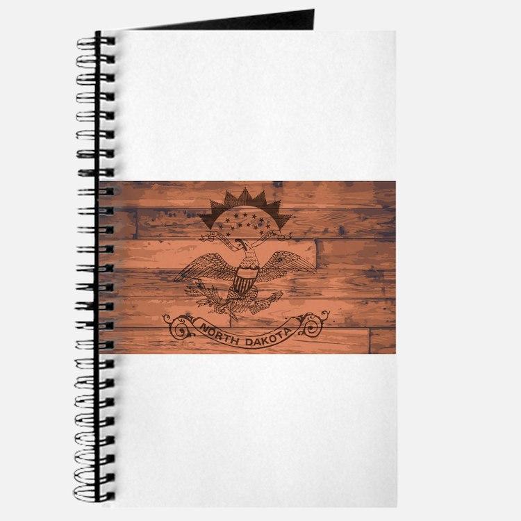 North Dakota State Flag Brand Journal