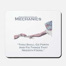 The Creation of Mechanics Mousepad