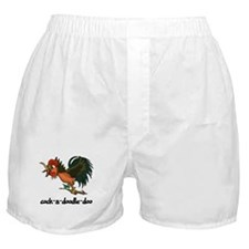 cock-a-doodle-doo Boxer Shorts