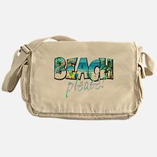 Kids Beach Please! Messenger Bag