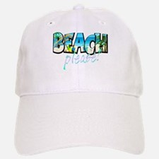 Kids Beach Please! Baseball Baseball Baseball Cap