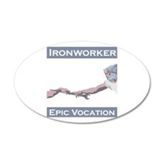 Ironworker, Epic Vocation Wall Decal