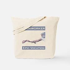 Ironworker, Epic Vocation Tote Bag
