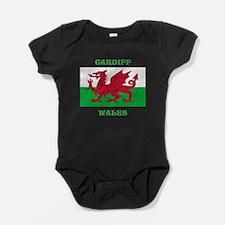 Cardiff Wales Baby Bodysuit