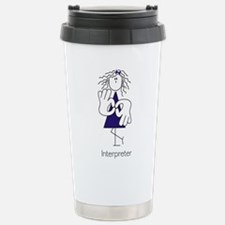 Female Terp With Bow Travel Mug