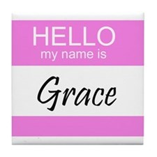 Grace Tile Coaster