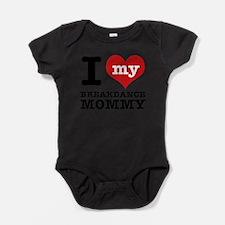 Cute Breakdance Baby Bodysuit