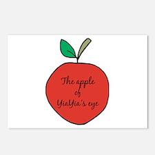 Apple of YiaYia's Eye Postcards (Package of 8)