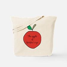 Apple of YiaYia's Eye Tote Bag