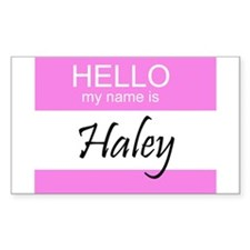 Haley Rectangle Decal