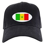 Senegal Blank Flag Black Cap