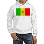 Senegal Blank Flag Hooded Sweatshirt