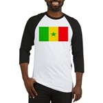 Senegal Blank Flag Baseball Jersey