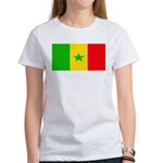 Senegal Blank Flag Women's T-Shirt