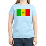 Senegal Blank Flag Women's Light T-Shirt