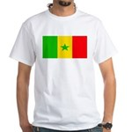 Senegal Blank Flag White T-Shirt