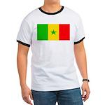 Senegal Blank Flag Ringer T
