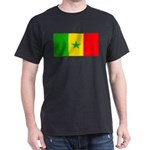 Senegal Blank Flag Dark T-Shirt