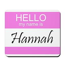 Hannah Mousepad