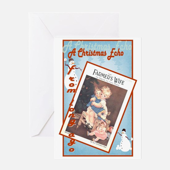 Cute child Christmas Card, Mary Anderson artist 19