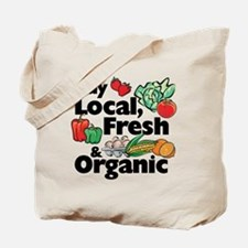 Buy Local Fresh & Organic Tote Bag