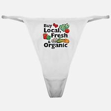 Buy Local Fresh & Organic Classic Thong