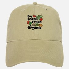 Buy Local Fresh & Organic Baseball Baseball Cap