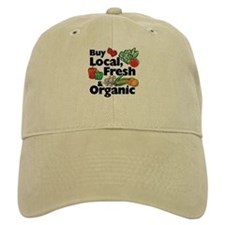 Buy Local Fresh & Organic Baseball Cap